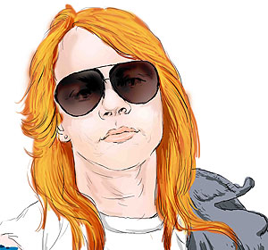 Famous Bipolar People - Axl Rose