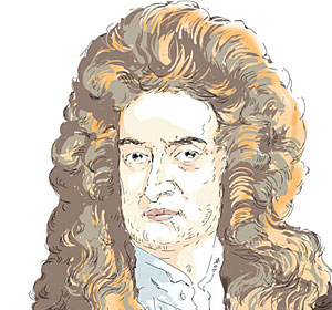 Famous Bipolar People - Sir Isaac Newton