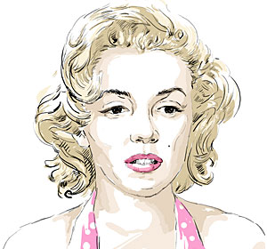 Famous Bipolar People - Marilyn Monroe
