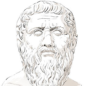 What is Plato famous for?